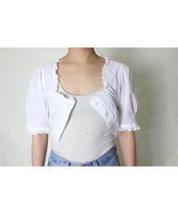 EUR vintage half sleeve blouse