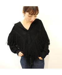 【LA buying】fringe sweater