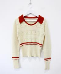 short line rib knit