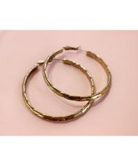 【LA buying】gold twist hooppierce