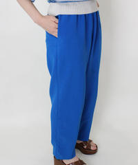 turquoise blue easy pants