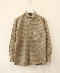 【EDWIN】beige wool  shirt