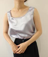 100% silk purple tops