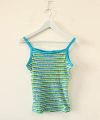 made in usa border  camisole