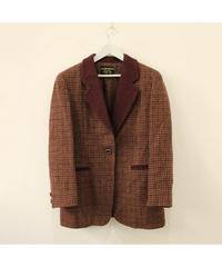 【Harris tweed】wool jacket