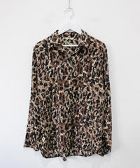 leopard shirt blouse