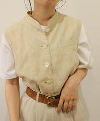linen100% vest