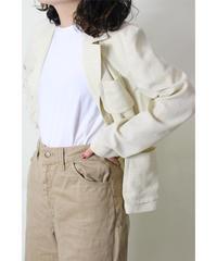 gingham check summer jacket