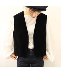 velours vest