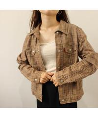 【levis 】Check cotton jacket