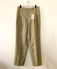 green check slacks