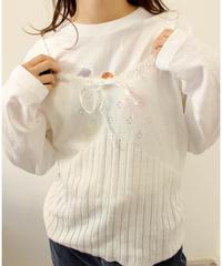 【laura ashley】knit camisole