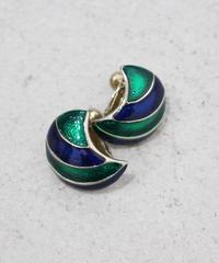moon silhouette earring