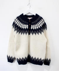 navy Nordic sweater
