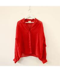 opencollar stripe shirt