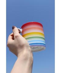 rainbow mug cup