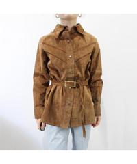 leather browsing shirt