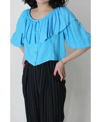 short chiffon blouse