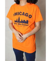 orange Chicago Tee