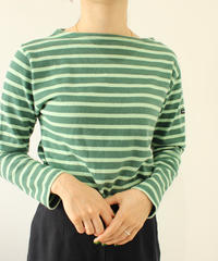 【 SAINT JAMES】Basqueshirt green
