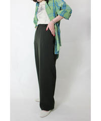deep green slacks