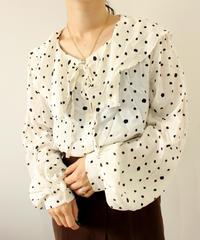 dot sailor blouse