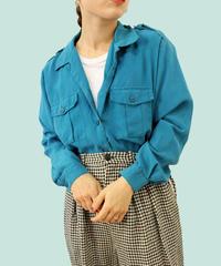 【LA  buying】opencolor rayon shirt