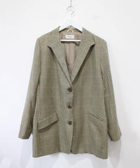 over size check jacket