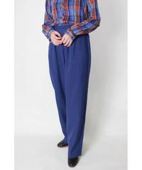 navy tuck pants