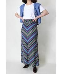 mulch stripe mermaid skirt