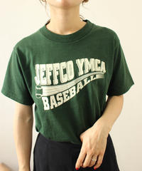 green baseball Tee
