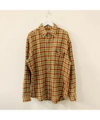 【wool rich】check wool shirt