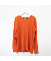 orange thermal tops