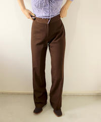 brown flare pants