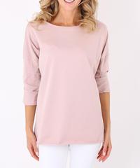 オーバーサイズTシャツ/Pink