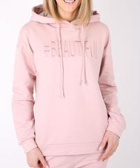 スウェットパーカーBeautiful/Pink