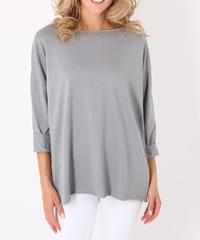 オーバーサイズTシャツ/Light grey