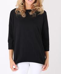 オーバーサイズTシャツ/Black