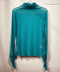 see-through inner(turquoise blue)