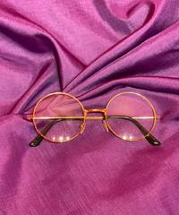 glasses(丸眼鏡gold)