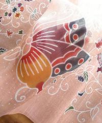 ショール 蝶にランタナ
