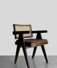 11-CH212032 Pierre Jeanneret floating back original vintage chair(メールオーダー対応品)
