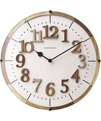 INTERFORM INC. インターフォルム 電波掛け時計 ナチュラル 見やすい シンプル 北欧 ウッド ウォールクロック Tielティール CL-9706