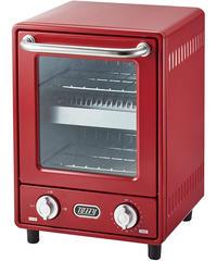 【Toffy/トフィー】 オーブントースター K-TS4  縦型トースター 2段トースター 新型 スリム レトロ K-TS4-PA