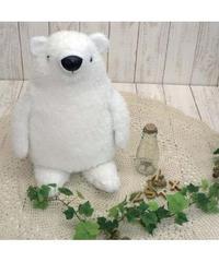 イナダ商事 アニマル ティッシュカバー 水曜日のクマさん(ホワイト)