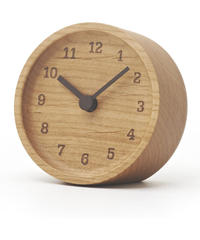 Lemnos MUKU desk clock ブナ LC12-05