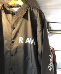 artist model ver RAWAXXX coach jacket【BLACK】XL
