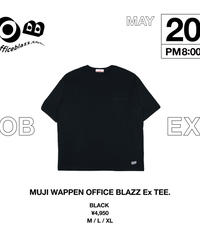 MUJI WAPPEN OFFICE BLAZZ Ex TEE. [BLACK]