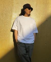 ATOMONE` BIG silhouette Pocket Tee [WHITE] / サイズ.L