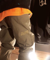 blazz logo stretch pants【Ivy Green】L,LL